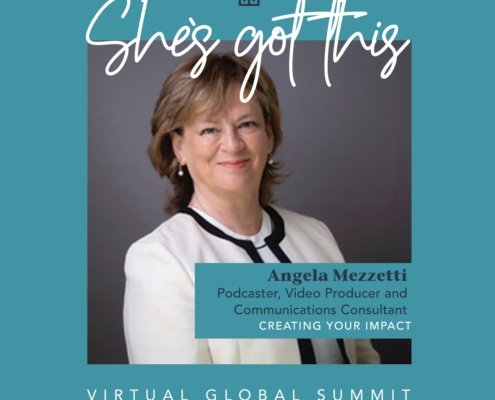 Wealthiher's Global Summit guest speaker AngelaMezzetti